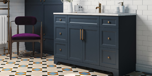 grey color cabinet